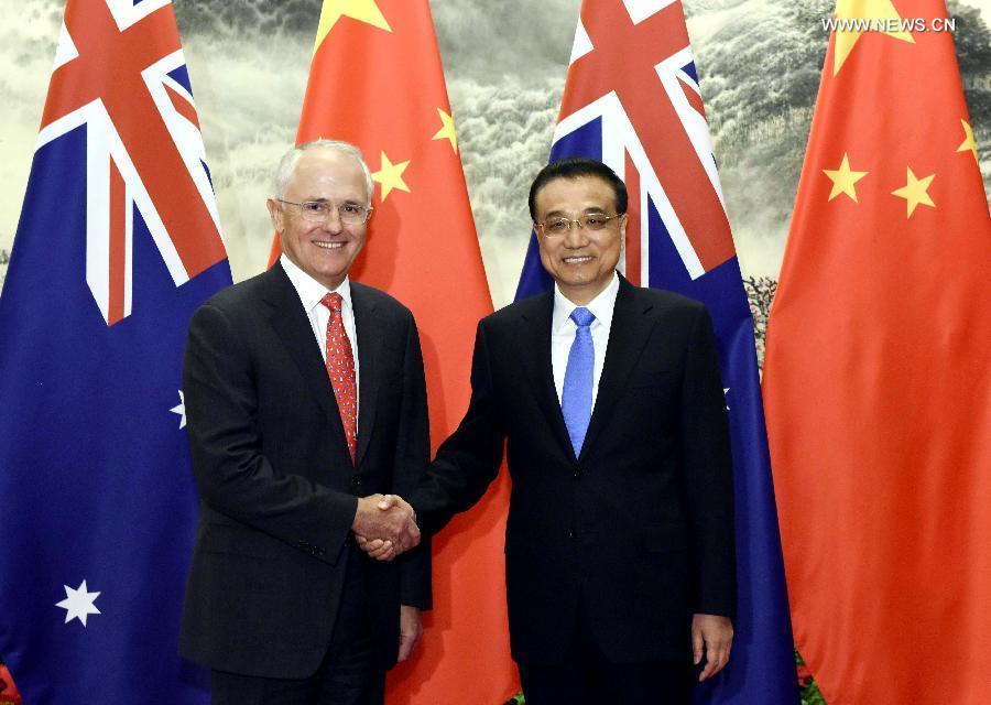 Премьеры КНР и Австралии подписали 5 документов по итогам переговоров