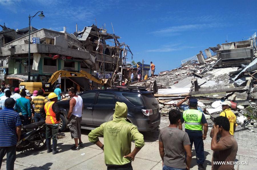Equateur: 233 morts dans le puissant séisme (nouveau bilan)