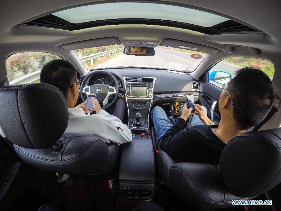 Китайские беспилотные автомобили прошли дорожные испытания на большой дистанции