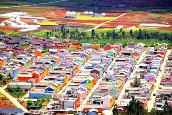 Yunnan : découvrez le premier village en couleurs de Chine