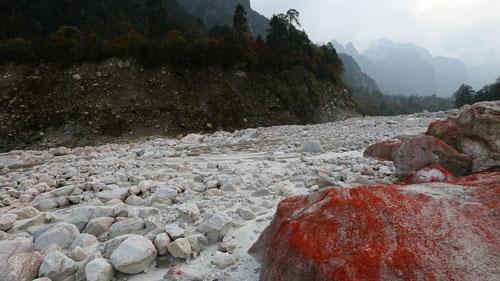 中国冰河雪谷风景区