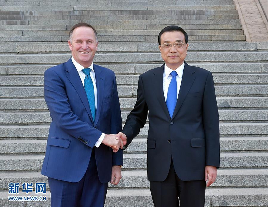 Премьер-министр Новой Зеландии продолжает визит в Китай