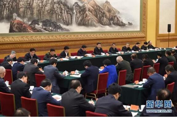 4月19日,中共中央总书记、国家主席、中央军委主席、中央网络安全和信息化领导小组组长习近平在北京主持召开网络安全和信息化工作座谈会并发表重要讲话。新华社记者 兰红光 摄