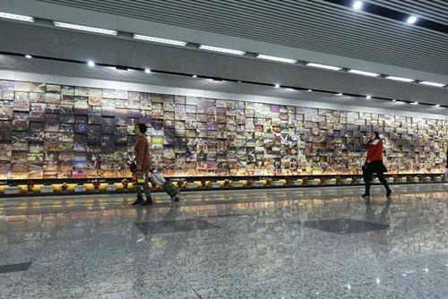 Хроника двух десятилетий истории Шанхайского метро в 660 фотографиях