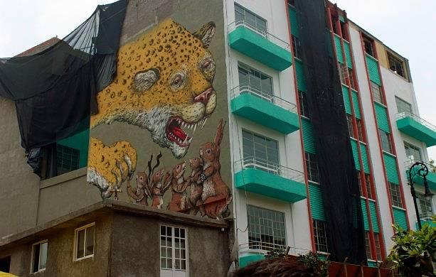 Promoviendo el arte de los muralistas de la capital mexicana