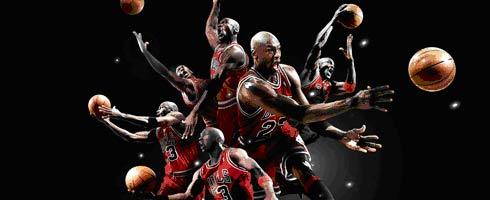 对于很多篮球运动员来说,乔丹是自己一辈子无法企及的高度.