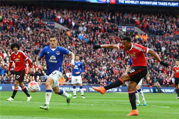 Manchester United 2 - Everton 1
