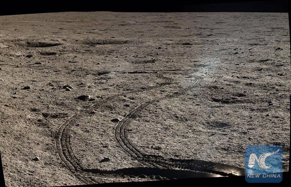 На поверхности Луны
