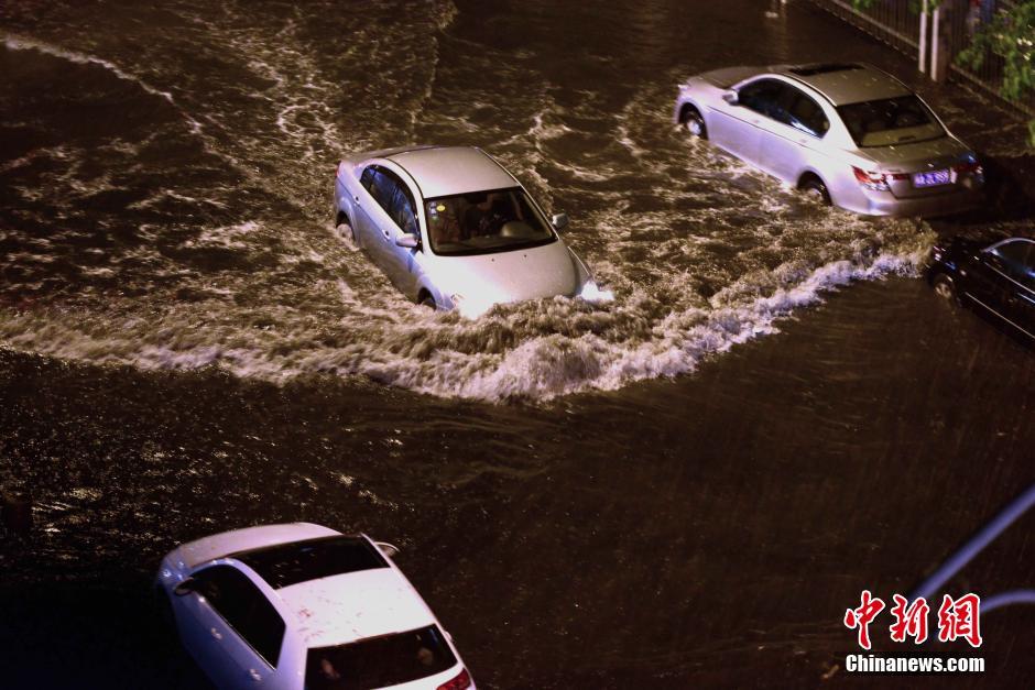 Опасность наводнений в провинциях Аньхой, Цзянси, Юньнань и Гуанси-Чжуанском автономном районе