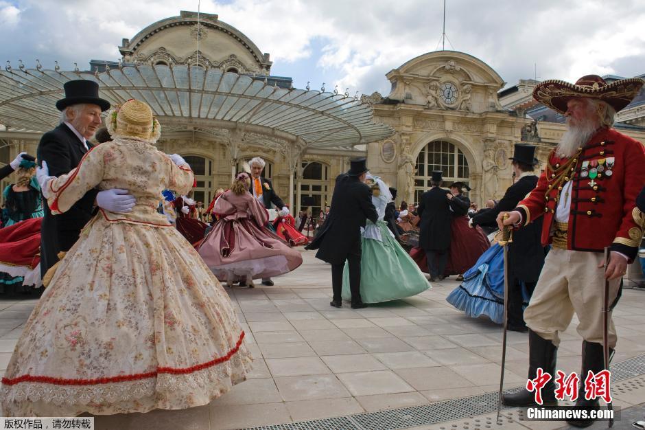 La ville de Vichy fête Napoléon III