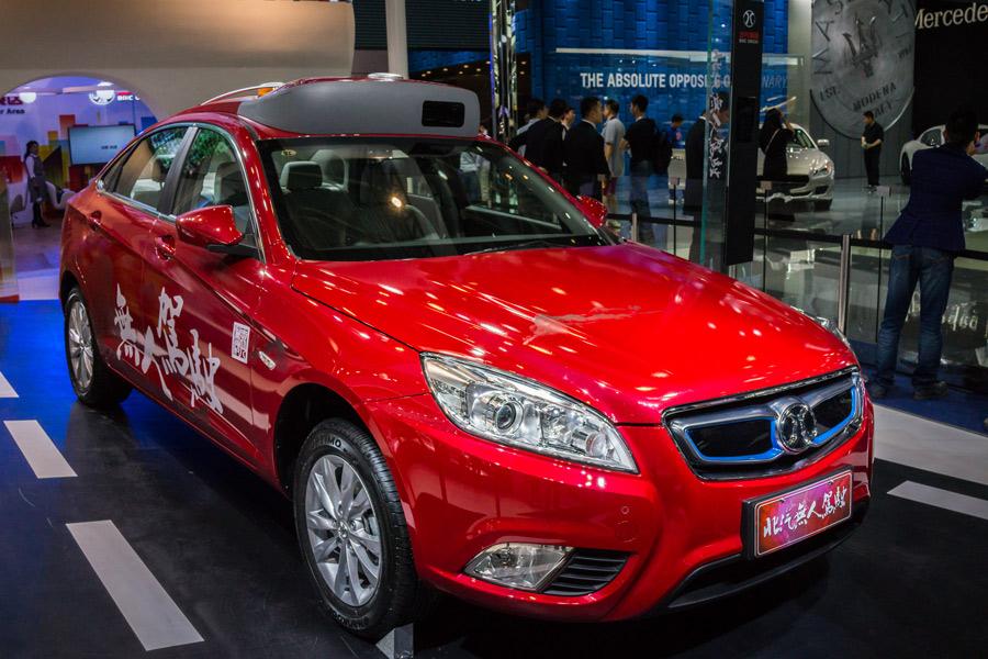 Китай делает ставку на беспилотные автомобили