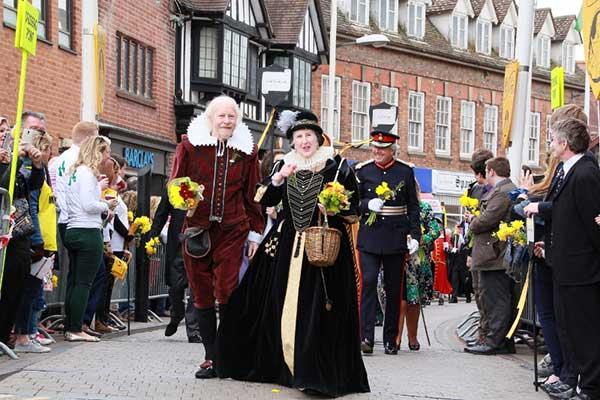 Stratford-upon-Avon celebrates Shakespeare