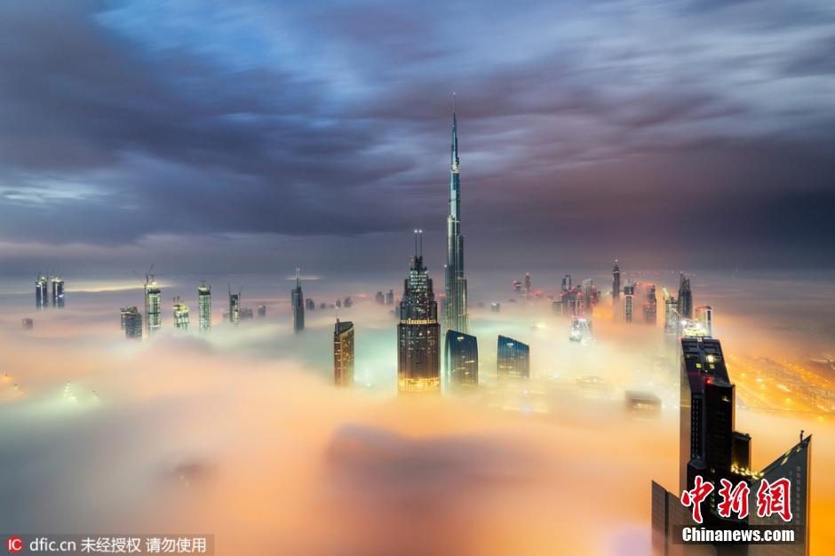 Dubaï, la ville dans les nuages…