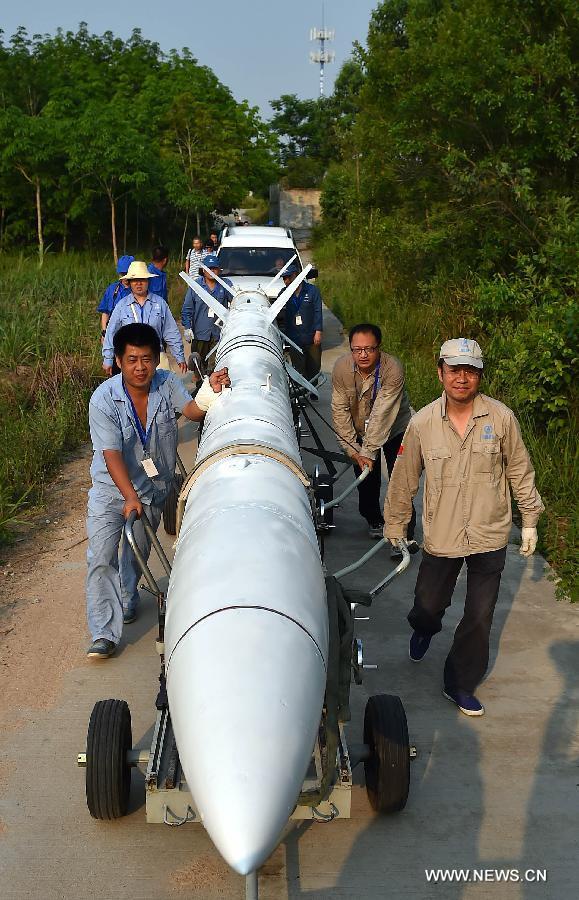 Китай успешно произвел запуск зондирующей ракеты