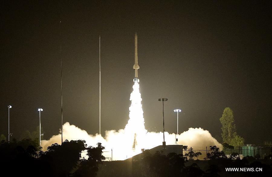 В Китае впервые вывели зондирующую ракету на уровень 300 километров от Земли