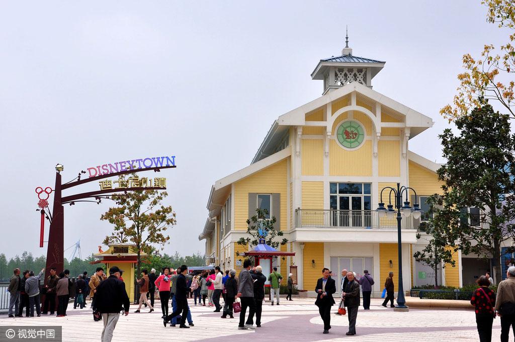 Zona de Complejos Turísticos de Disneylandia en Shanghai abre sus puertas