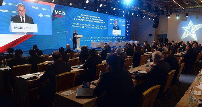В российской столице продолжается 5-я конференнция по международной безопасности