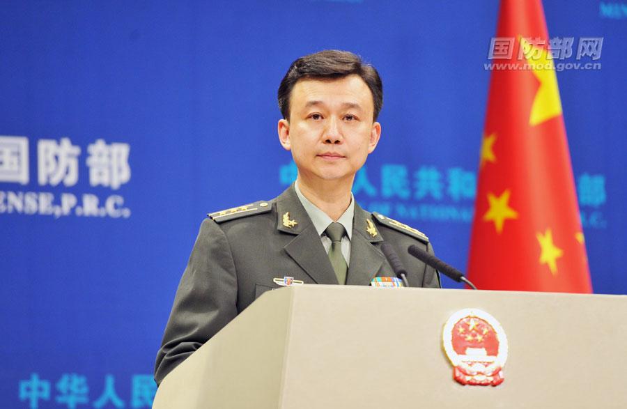 У Цянь, Пресс-секретарь Министерства обороны КНР