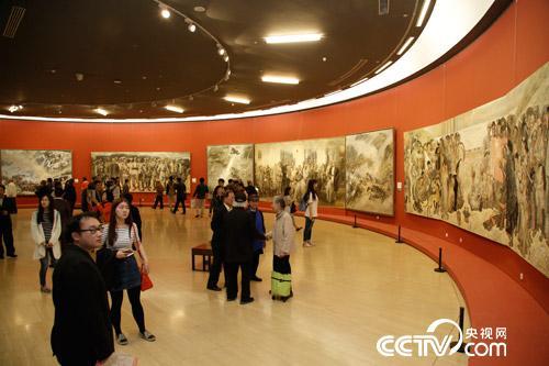 中国美术馆庆祝中国共产党建党95周年作品系列展图片