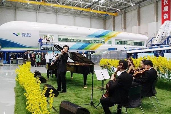 《中國夢•勞動美》特別節目上海分會場《春天協奏曲》。