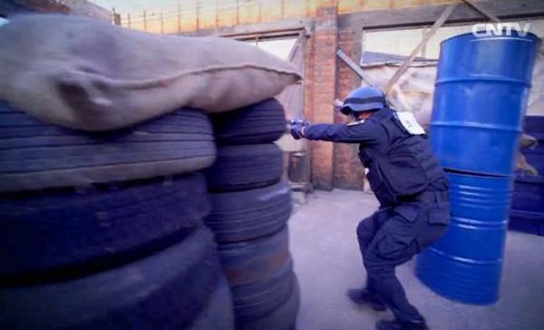 《警察特訓營》節目片花。