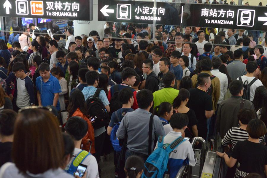 Пассажиропоток на ж\д магистралях КНР может достичь 45 млн человек