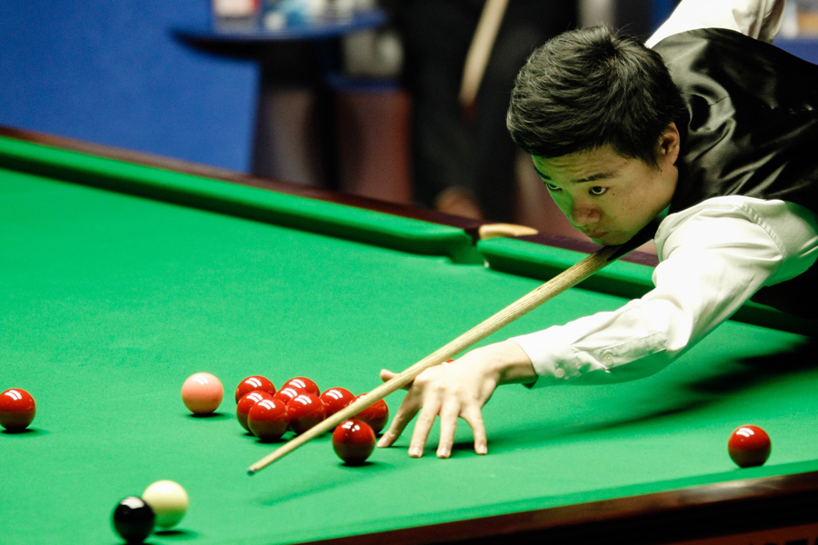 Китаец Дин Цзюньхуэй стал первым азиатским игроком, вышедшим в финал ЧМ