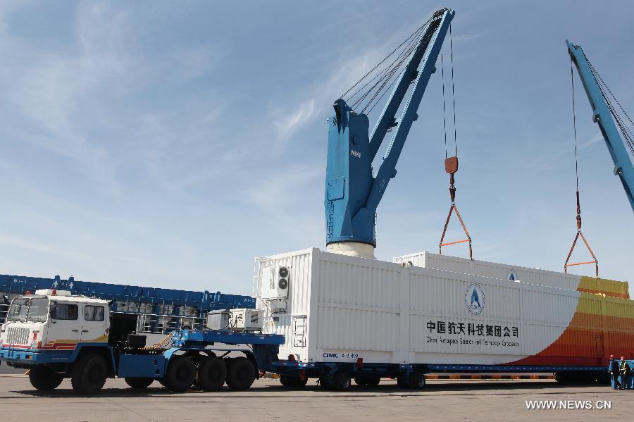 """Ракета-носитель """"Чанчжэн-7"""" отправлена к месту будущего запуска, намеченного на конец июня"""
