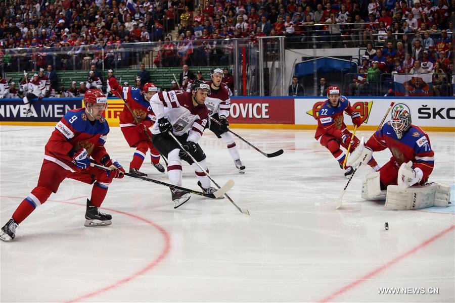 Хоккей -- Чемпионат мира-2016, групповой этап: обзор матча Латвия -- Россия