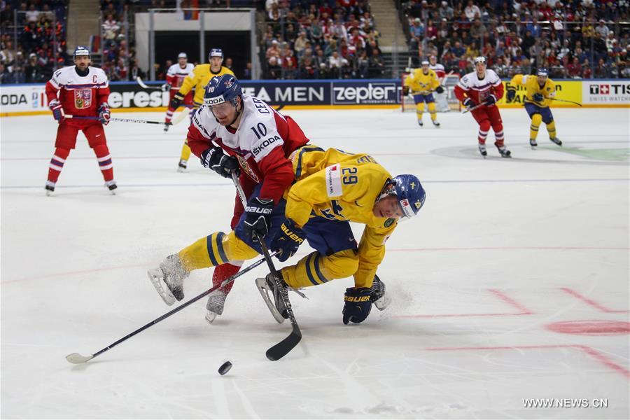 Хоккей -- Групповой этап чемпионата мира -- 2016: Швеция -- Чехия