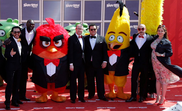 Angry Birds Movie Characters: The 'Angry Birds' Movie Cast Gather In Cannes
