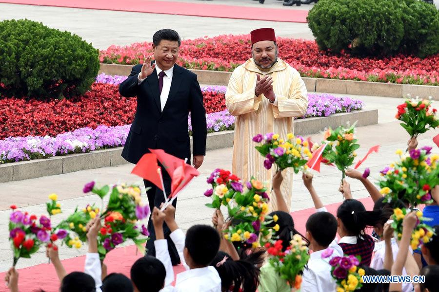Le roi Mohammed VI en visite officielle en Chine pour développer les échanges économiques