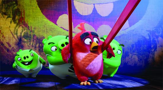 3d电影《愤怒的小鸟》