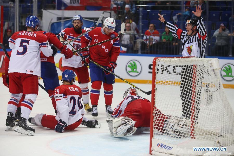 ЧМ-2016 по хоккею: США разгромили Францию в матче группового этапа