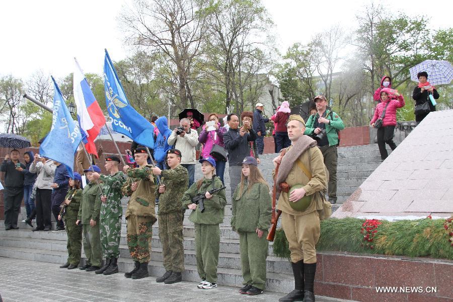"""Патриотическое мероприятие """"Дорогами памяти"""" прошло во Владивостоке"""