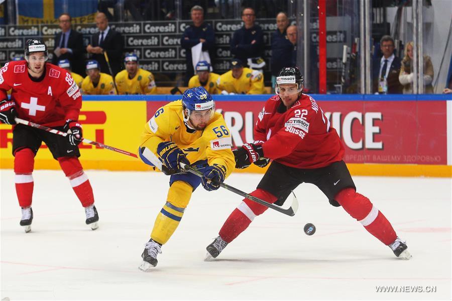 Хоккей -- Групповой этап чемпионата мира -- 2016: Швеция -- Швейцария