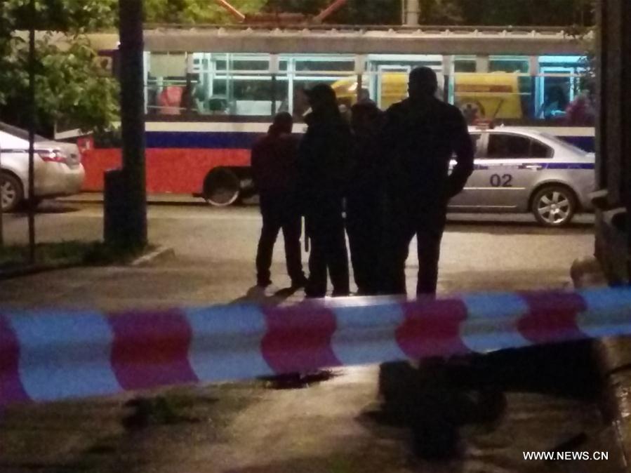 В Москве произошел захват заложников