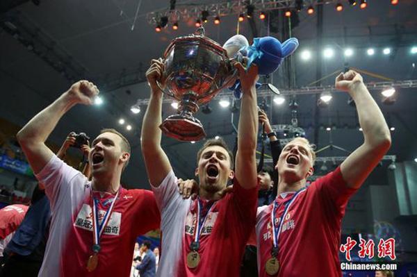 Badminton: Dinamarca vence a Indonesia 3-2 y se convierte en la primera nación europea que gana el certamen