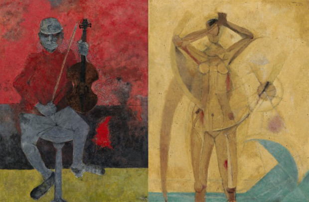 Diego rivera and rufino tamayo top lots at latin american for Mural rufino tamayo