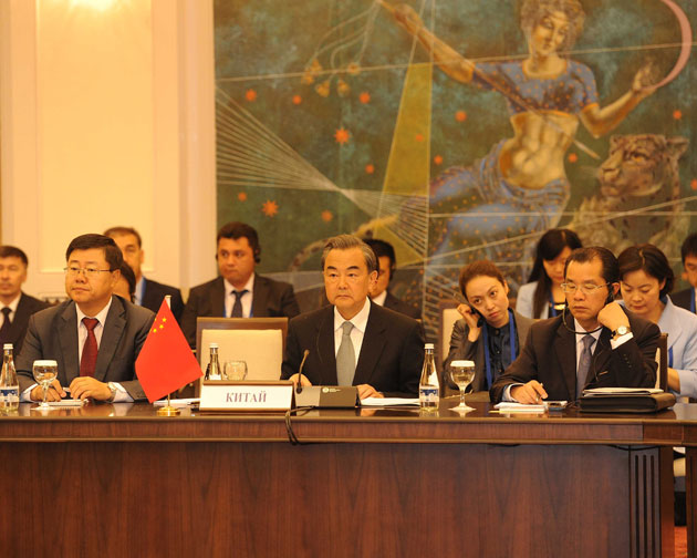 Le ministre chinois des AE fait une proposition en 5 points pour le développement de l