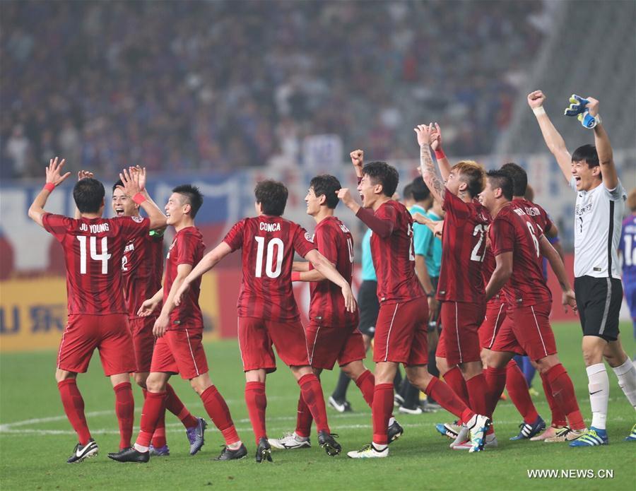 SHANGHAI, May 24, 2016 (Xinhua) -- Players of China