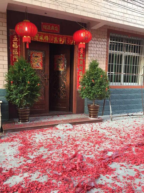 3057《我眼中的春节》厦门外国语学校湖里分