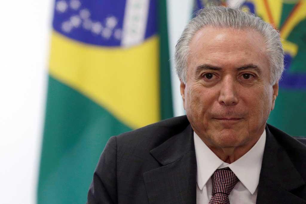 Presidente interino de Brasil desea reformar la Constitución para frenar gasto público