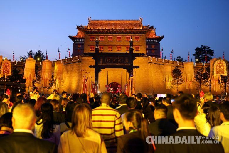 افتتاح مؤتمر المرأة لقمة مجموعة العشرين في مدينة شيآن الصينية
