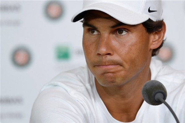 Nadal explains his reasons for pulling out of the French Open.