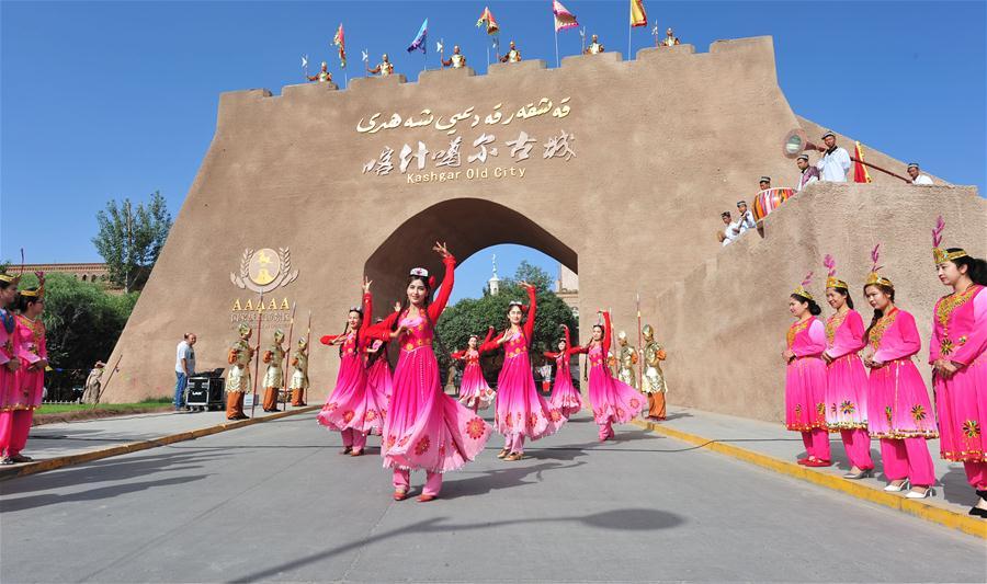 Кашгар встречает туристический сезон