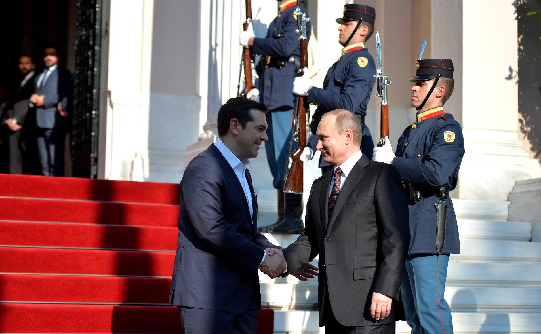 Визит президента РФ В. Путина в Грецию нацелен на укрепление двустороннего сотрудничества