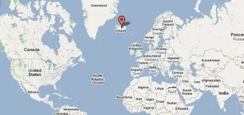 的交汇处,是欧洲人口密度最小的国家-怎样移民到 热爱约P 的冰岛