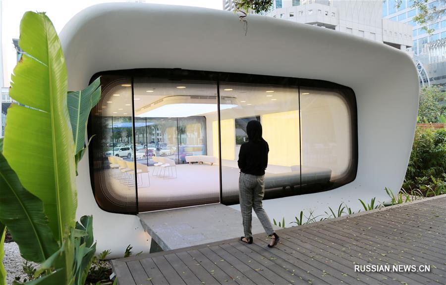 В Дубае появилось первое в мире офисное здание, сооруженное с применением 3D-технологии