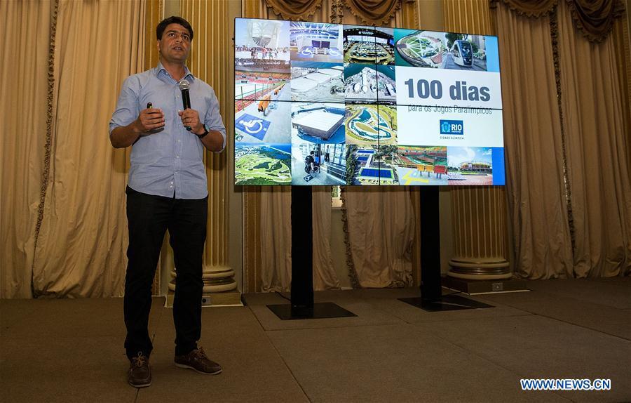 В Рио-де-Жанейро торжественно начался обратный отсчет 100 дней до открытия Паралимпиады-2016